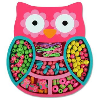 Stephen Joseph - Bead Boutique (Owl)-Binky Boppy