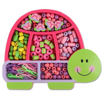 Stephen Joseph - Bead Boutique (Turtle)-Binky Boppy