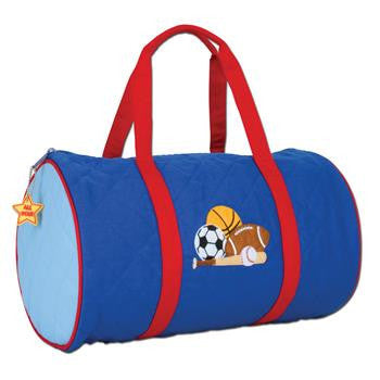 Stephen Joseph - Quilted Duffle (Sports)-Binky Boppy