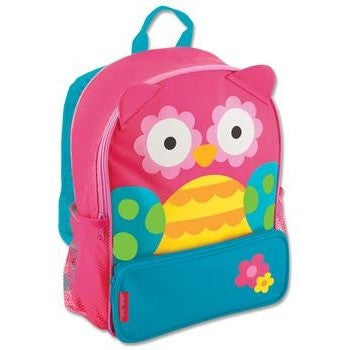 Stephen Joseph - Sidekick Backpack (Owl)-Binky Boppy