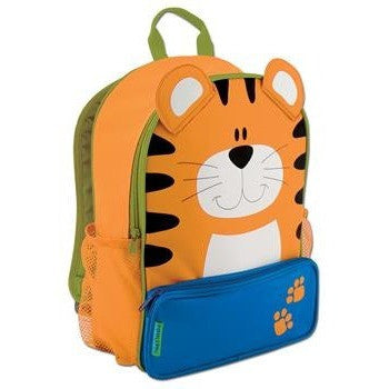 Stephen Joseph - Sidekick Backpack (Tiger)-Binky Boppy