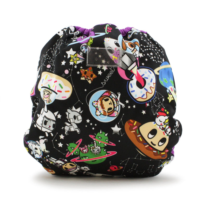 Kanga Care x Tokidoki - One Size Snap Diaper Cover (TokiSpace Aquarius)-Binky Boppy