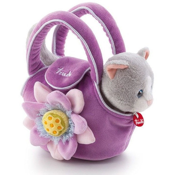 Trudi - Kitty in a Bag-Binky Boppy