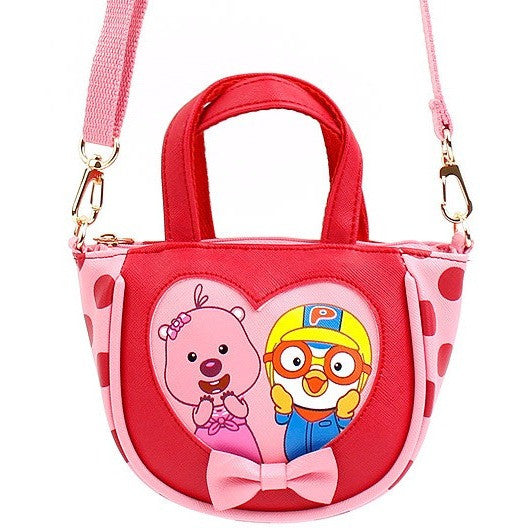 Winghouse - Pororo Love Heart Hand Cross (Red)-Binky Boppy