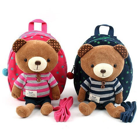 Winghouse - Bubble Mu Happy Safety Harness Backpack (Navy)-Binky Boppy