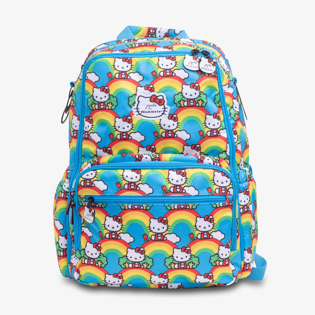 Jujube Sanrio - Zealous Backpack (Hello Rainbow)-Binky Boppy