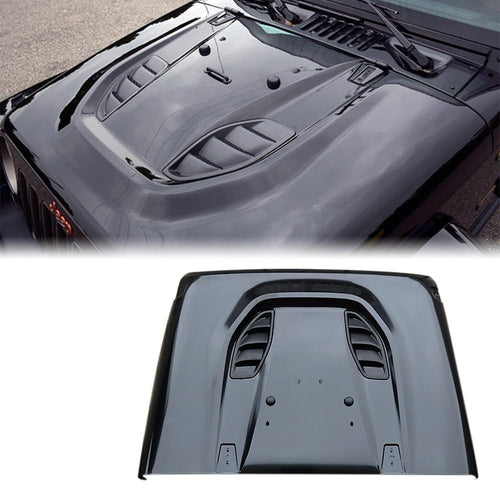 10th Anniversary Hard Rock Series Steel Hood for 07-17 Jeep Wrangler JK