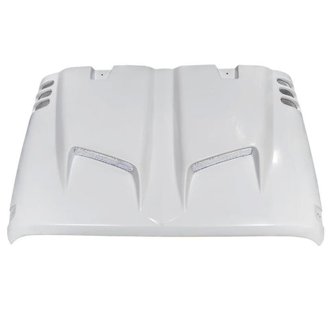 Combat Series Fiber Glass Hood for 07-17 Jeep Wrangler