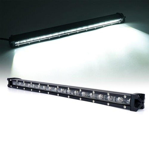 "Xprite 20"" 90W Ultra Thin Astro Series Flood Beam CREE LED Light Bar"