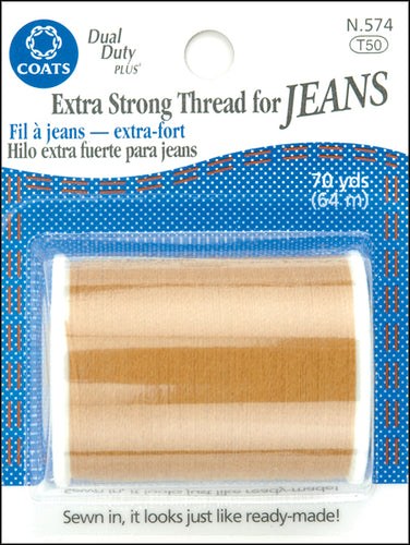 Coats Extra Strong Thread For Jeans 70yd
