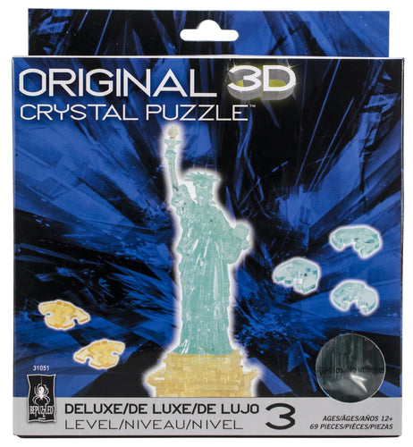 3-D Deluxe Crystal Puzzle