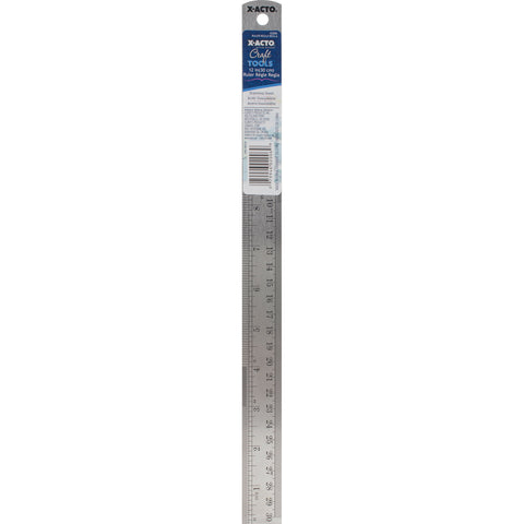 X-ACTO(R) Designer Series Metal Ruler 12""