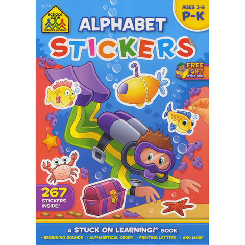 Stuck On Learning Sticker Workbook