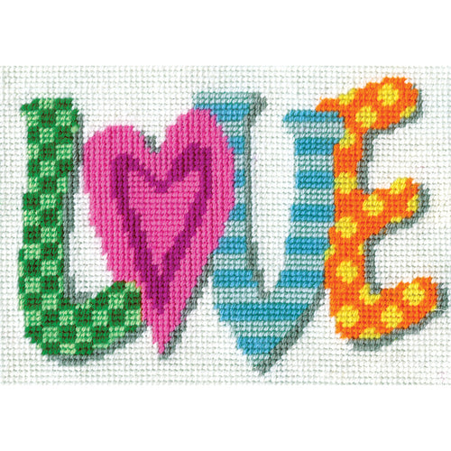 "Design Works Needlepoint Kit 7""X5"""