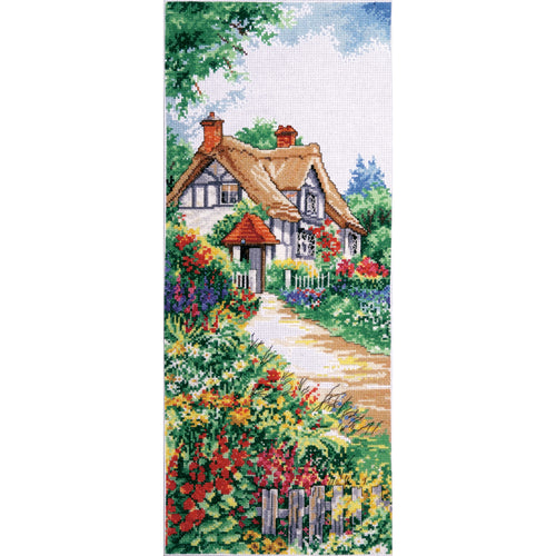 "Design Works Counted Cross Stitch Kit 8""X20"""