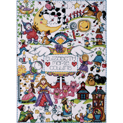"Design Works Counted Cross Stitch Kit 11""X15"""
