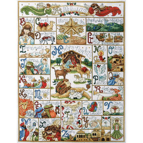 "Design Works Counted Cross Stitch Kit 16""X21"""