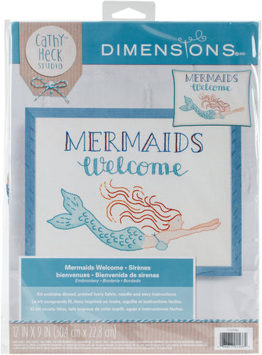 "Dimensions/Cathy Heck Embroidery Kit 12""X9"""