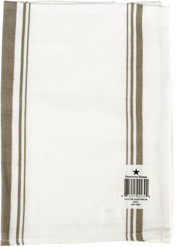 "Dunroven House Jacquard Weave Kitchen Towel 20""X28"""