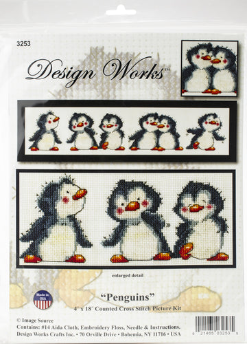 "Design Works Counted Cross Stitch Kit 4""X18"""