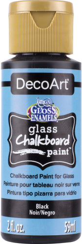 Americana Gloss Enamels Glass Chalkboard Paint 2oz