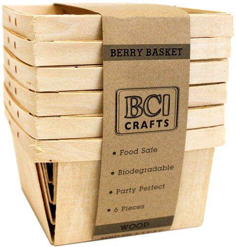 "Berry Basket 5"" 6/Pkg"