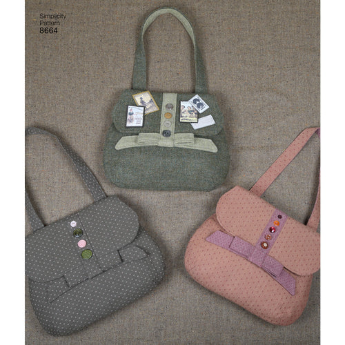 Simplicity Bags In Four Styles