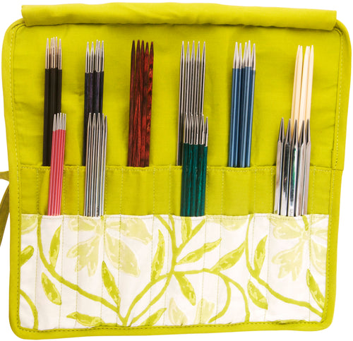 Knitter's Pride Greenery Double Pointed Needle Case 6-8""