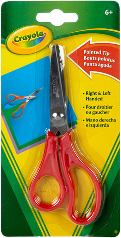 Crayola Pointed Tip Scissors 5""