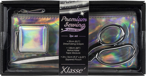 Klasse Iridescent Scissor 3pc Set
