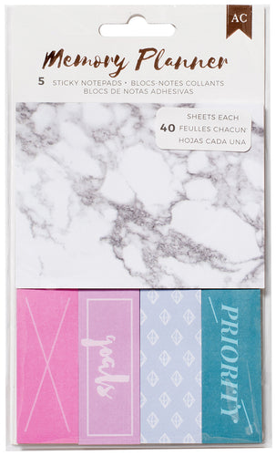American Crafts Memory Planner Sticky Note Pack