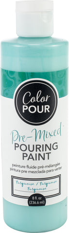 American Crafts Color Pour Pre-Mixed Paint 8oz