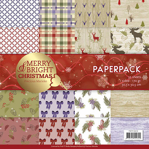"Find It Trading Precious Marieke Paper Pack 12""X12"" 23/Pkg"