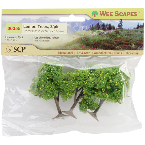 "Lemon Trees 2.25"" To 2.5"" 3/Pkg"