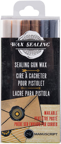 Sealing Gun Wax Sticks 6/Pkg