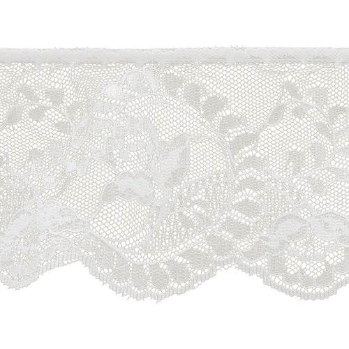 "Simplicity Flower Cameo Lace 3-7/8""X12yd"