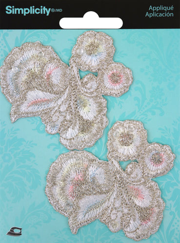 Wrights Wedding Iron-On Appliques 2/Pkg