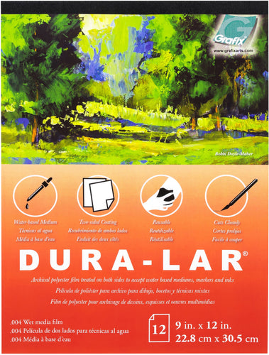 "Dura-Lar Clear .004 Wet Media Pad 11""X14"""