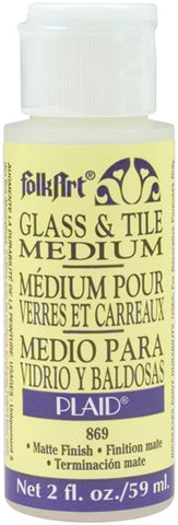 FolkArt Glass & Tile Medium 2oz