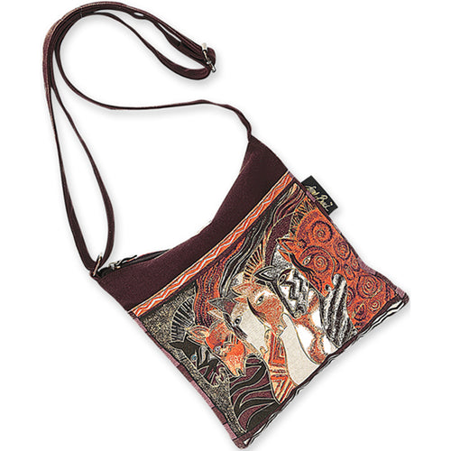 "Laurel Burch Crossbody 10""X10"""
