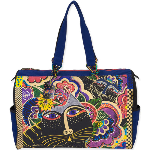"Laurel Burch Travel Bag 21""X8""X15"""