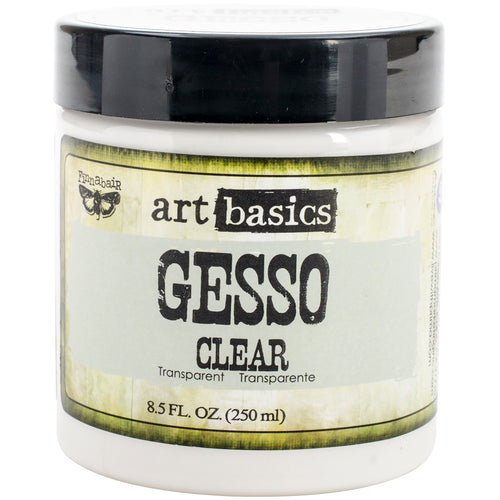 Finnabair Art Basics Gesso 8.5oz Jar