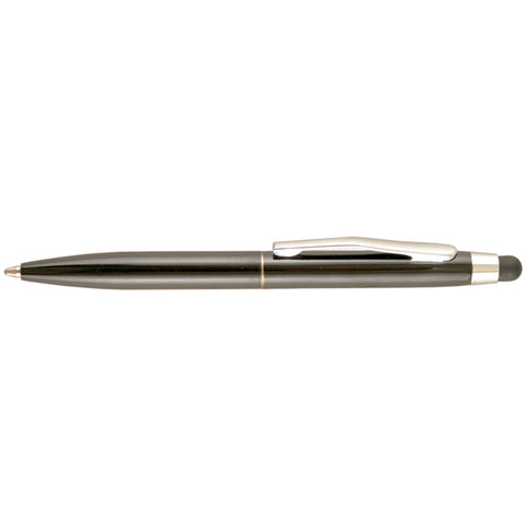 St. Tropez Petite 2-In-1 Stylus & Pen W/Black Ink Open Stock