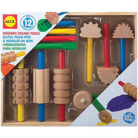 Wooden Dough Tools 11/Pkg