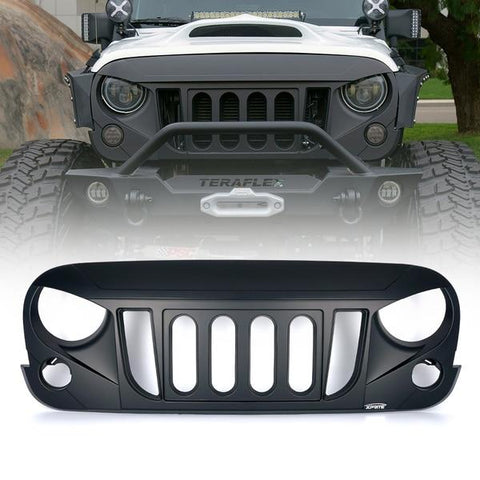Xprite Transformer Grille without Mesh for Jeep Wrangler 2007-2018