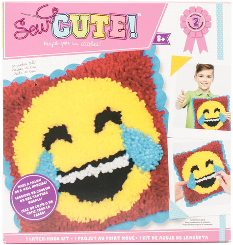 Emoji Sew Cute! Latch Hook Kit