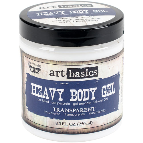 Finnabair Art Basics Super Heavy Gel 8.5 Fluid Ounces