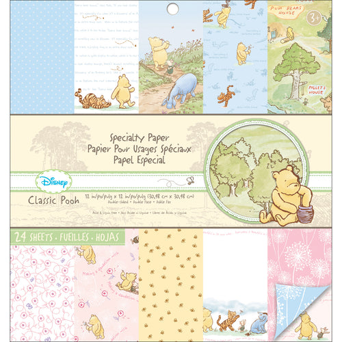 "Disney Specialty Double-Sided Paper Pad 12""X12"""
