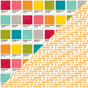 "Shades Of Color Double-Sided Cardstock 12""X12"""
