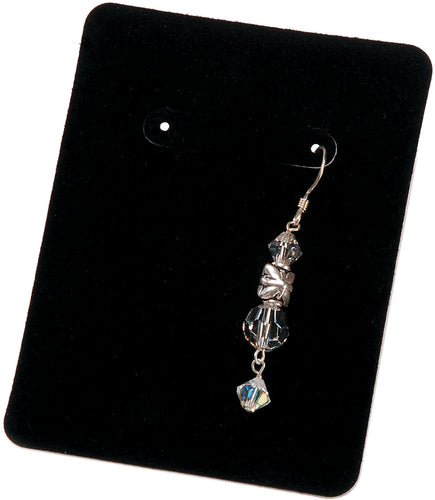 "Earring Display Cards 3.25""X2.5"" 30/Pkg"